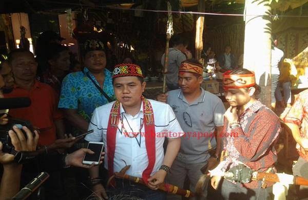 Waket I DPRD Bartim: Masyarakat Harus Menghormati Adat Dan Budaya