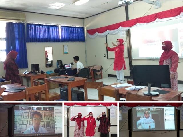 Rayakan HUT Kemerdekaan ke-75 RI, SMAN 21 Bandung Gelar Aneka Lomba Secara Virtual