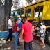 Estudantes recebem cuidados no transporte para fazer provas do ENEM
