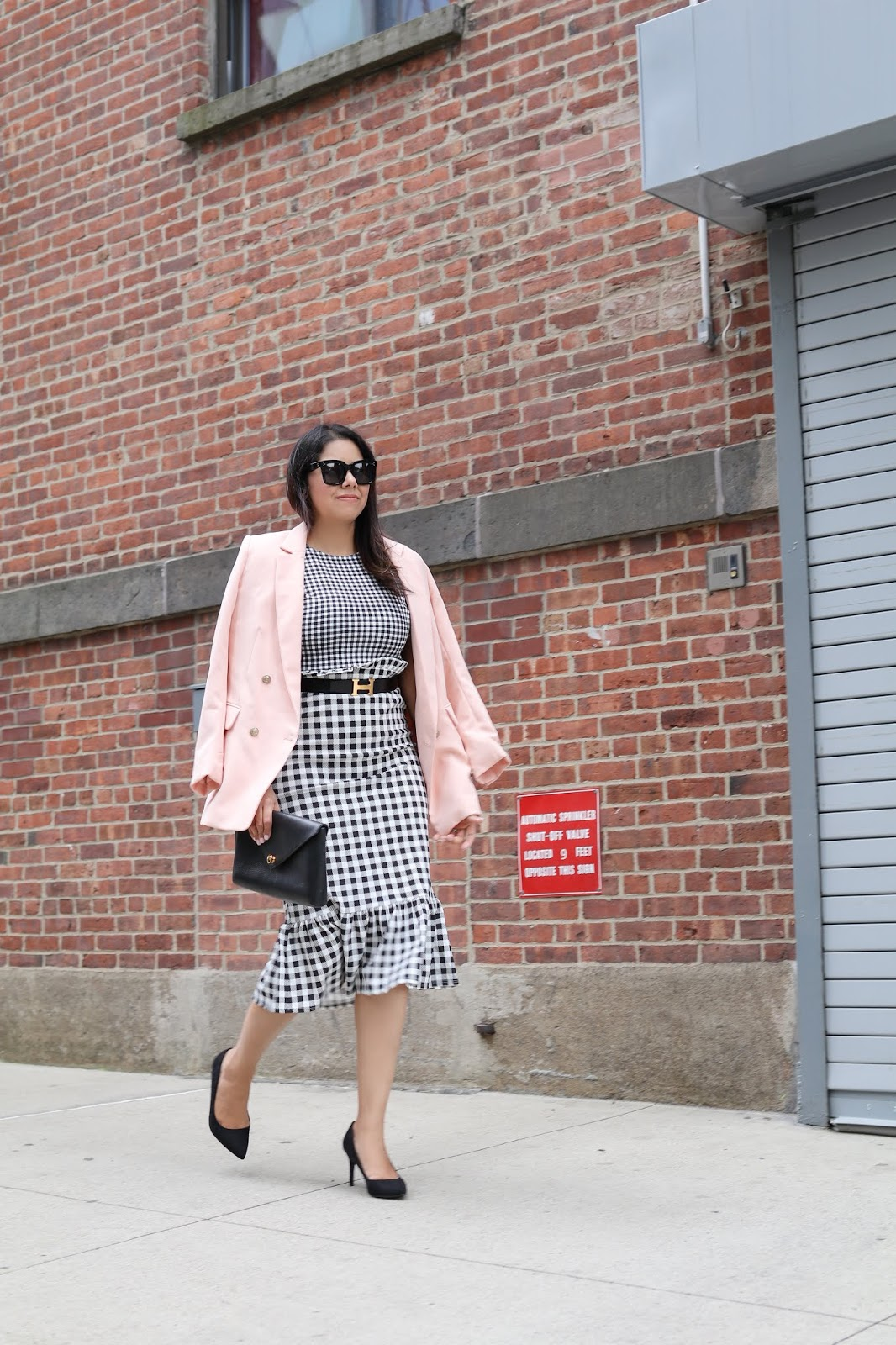 NYFW Street style, NYFW chic outfit