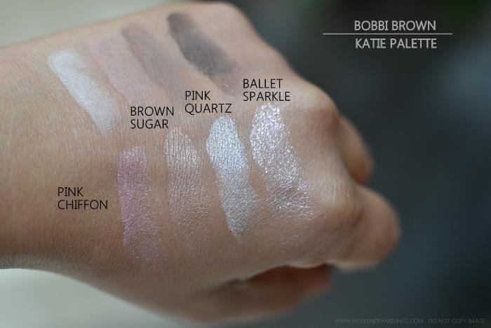 Weekend Ramblings Bobbi Brown Katie Makeup Collection Palette