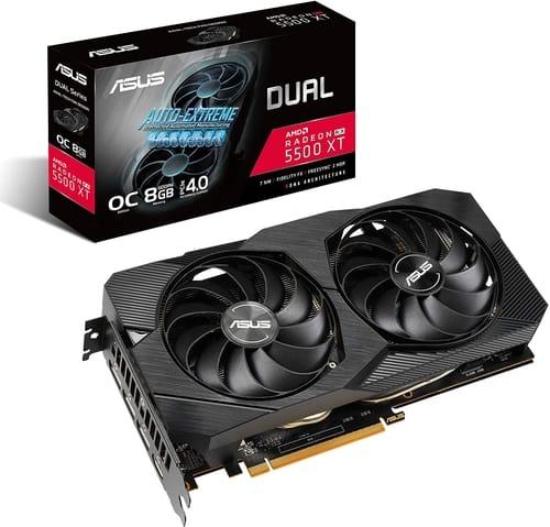 ASUS AMD Radeon RX 5500XT Overclocked O8G