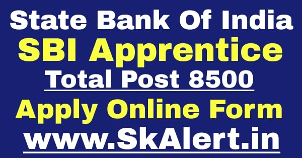 SBI Apprentice Recruitment 2020 Online Form for 8500 Posts