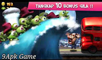 Game Zombie Tsunami Mod Unlimited gold, coin, diamond
