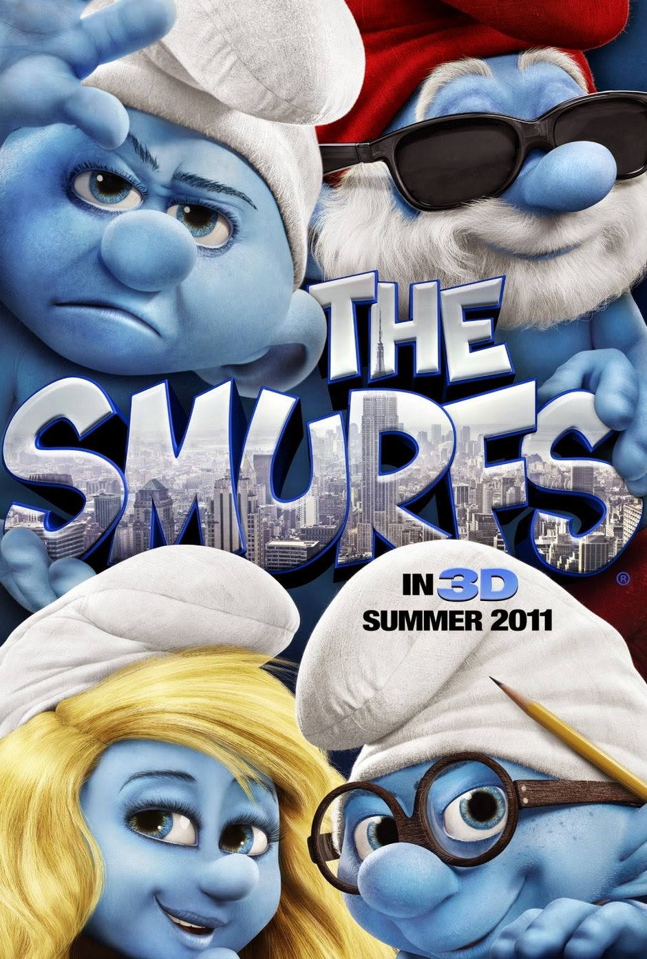 The Smurfs 2011 animatedfilmreviews.filminspector.com