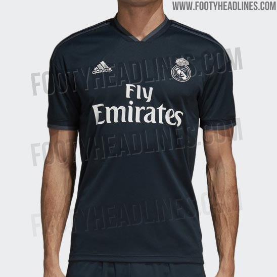 8ab06f149 OFFICIAL Pictures  Full Real Madrid 18-19 Away Kit Leaked