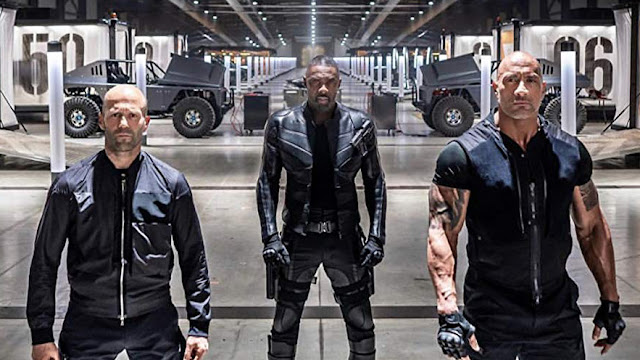 Jason Statham Idris Elba Dwayne Johnson
