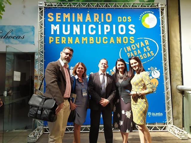 José Wendes Oliveira representa Sairé no Seminário dos Municípios Pernambucanos