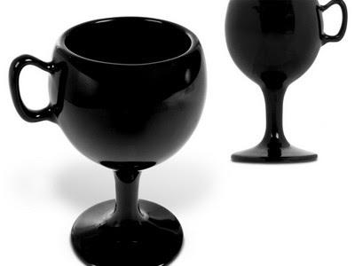 ceramic wine glass mug
