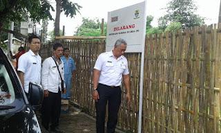 DLH Kota Cirebon Tutup TPS Liar Di Penggung