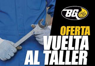 BG Products pone en marcha una campaña promocional para facilitar la 'Vuelta al Taller'