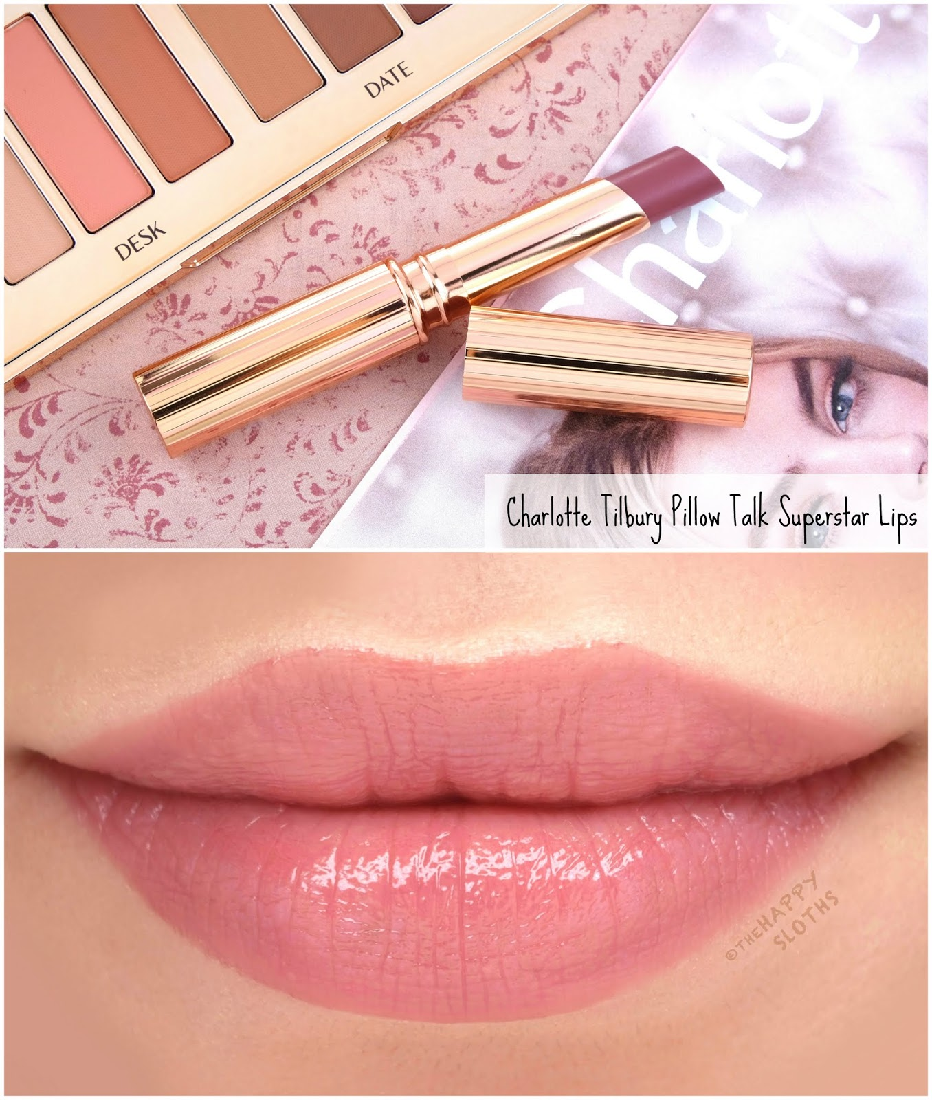 Charlotte Tilbury | Pillow Talk Superstar Lips: Review and Swatches
