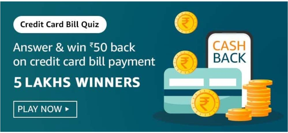 Amazon Credit Card Bill Quiz Answers