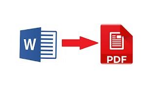 Cara Merubah File Word Ke Pdf Tanpa Menggunakan Aplikasi Tambahan
