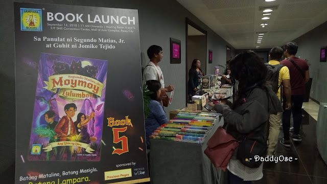 Moymoy Lulumboy Book 5 launch including Books 1 to 4