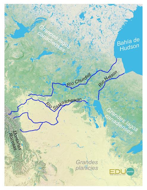 hidrografia, america del norte, norteamerica, rio, cuenca, AMERICA, Churchill, Nelson, Saskatchewan