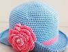 Chapéu de Bebê em Crochê