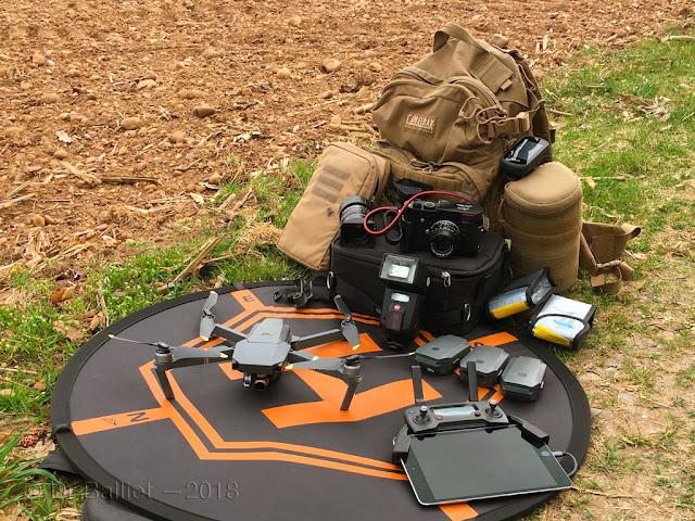 Drone et matériel photographique… quelques items