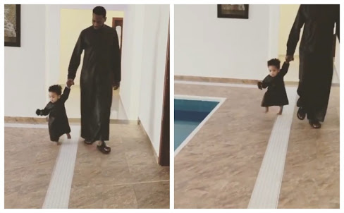 D'Banj Was Advised About That Swimming Pool & His Son