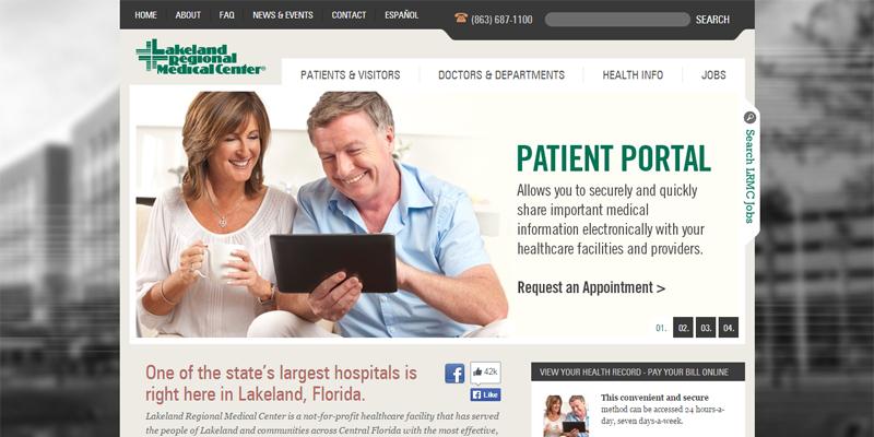 Hospital web design showcase: 6 examples of the best hospital ...