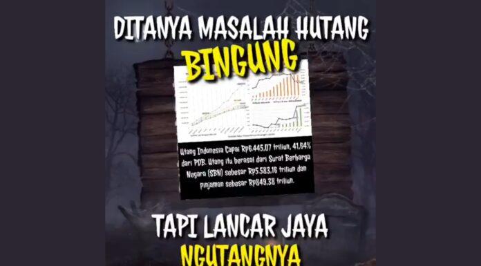 'Utang Negara Sundul Langit' Trending, Netizen Sindir Jokowi: Utang Menggunung Tanpa Prestasi Kerja, Bego to the Max!