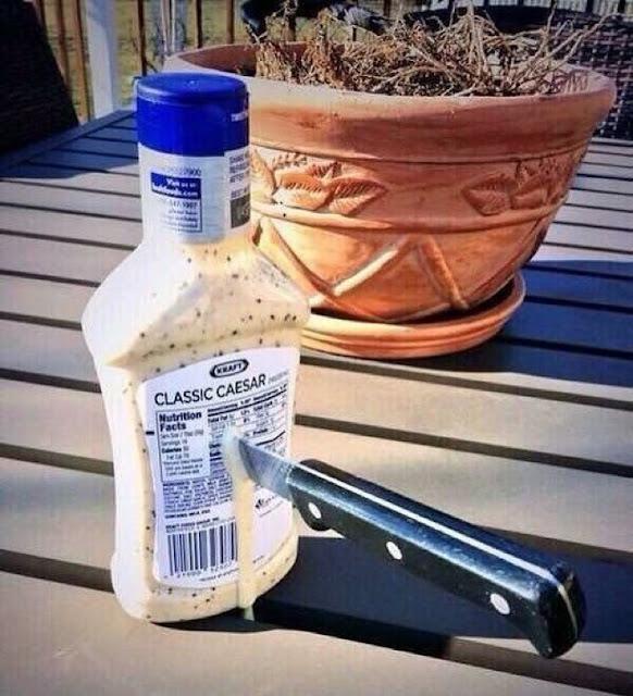 Funny Kraft's Classic Caesar Dressing Meme Picture