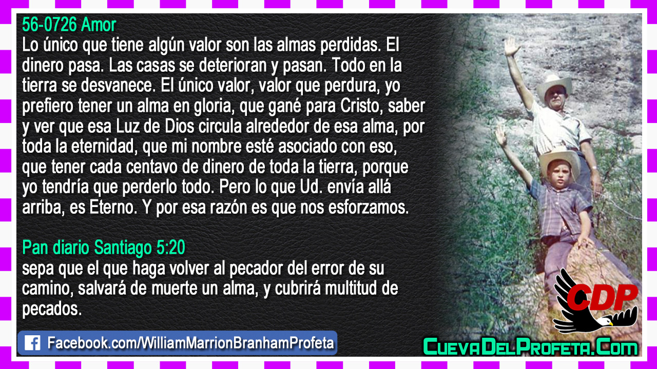 El valor de las almas perdidas - William Branham en Español