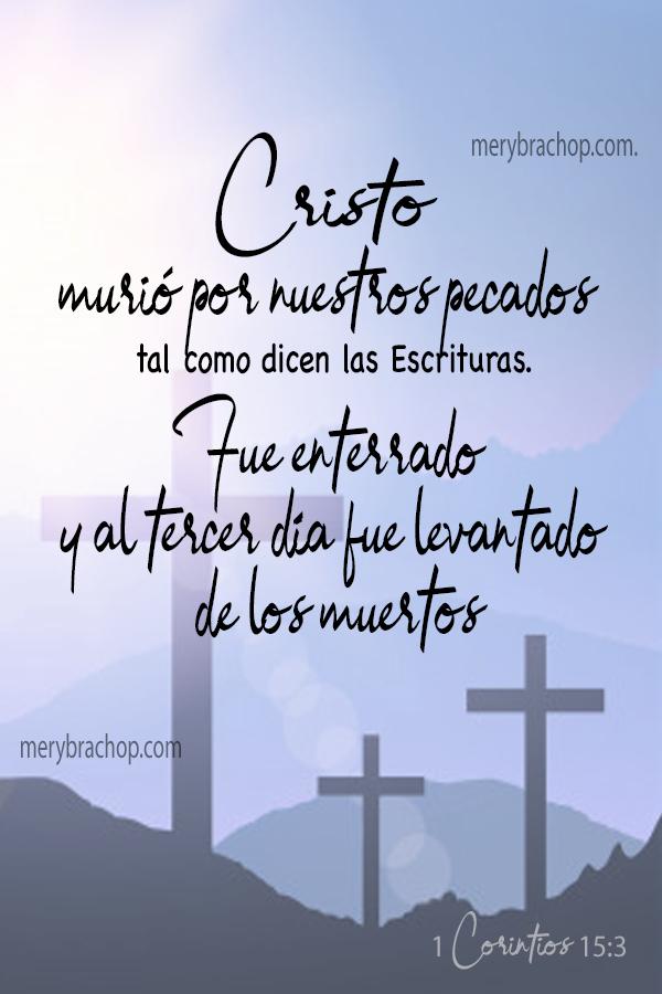 frases versiculos de Jesus semana santa muerte y resurreccion citas biblicas