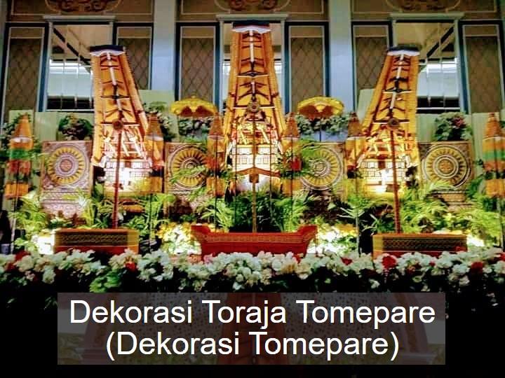 Paket Dekorasi Pernikahan Toraja Tomepare