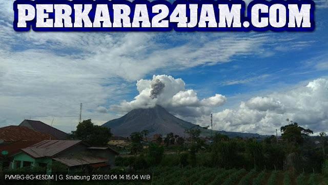 Warga Diimbau Selalu Waspada Perihal Status Siaga Dari Gunung Sinabung