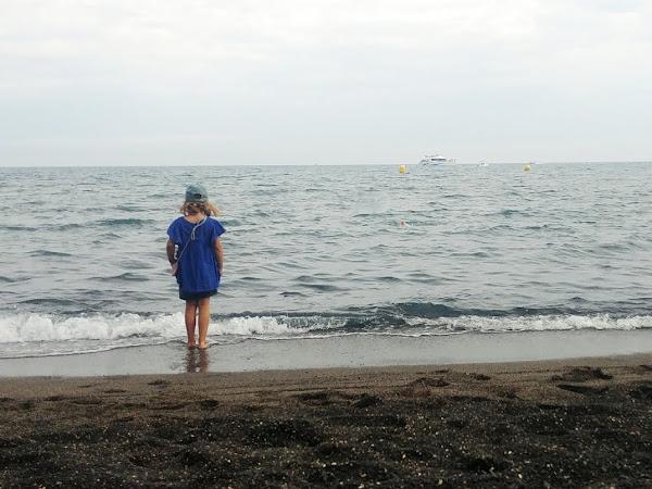 Sortie en famille - La plage de la grande Conque à Agde