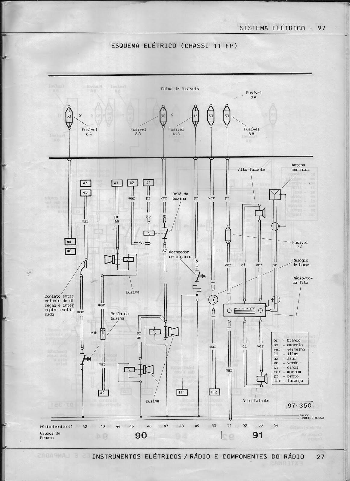 OFICINA VW : MANUAL DE REPARAÇÕES DO FUSCA 1986 (ESQUEMAS