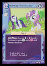 My Little Pony Getting Hooves Dirty Premiere CCG Card