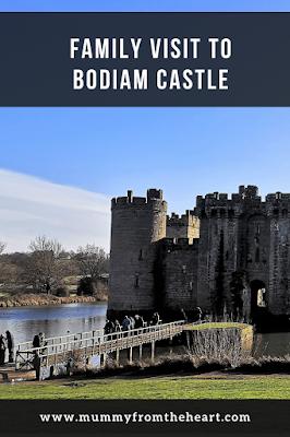 Bodiam castle pin