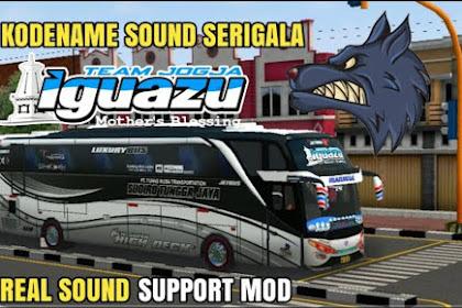 Kode Name Sound Serigala Iguazu Real BUSSID v3.5