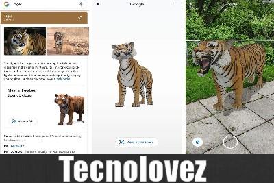 Come fare per visualizzare gli animali in realtà aumentata su Google