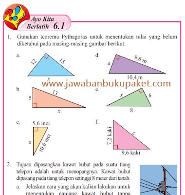 Kunci Jawaban Halaman 11 12 13 Ayo Kita Berlatih 6.1 Matematika Kelas 8 Semester 2 www.jawabanbukupaket.com