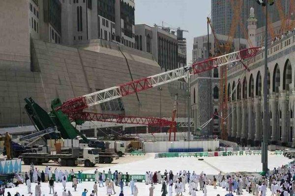 السعودية| حكم نهائي وقاطع في قضية سقوط رافعة الحرم لصالح بن لادن