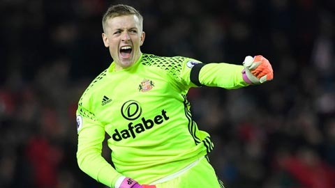 Jordan Pickford chuyển sang Everton với giá 30 triệu bảng