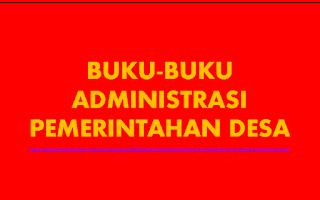[Format Administrasi Pemerintahan Desa]