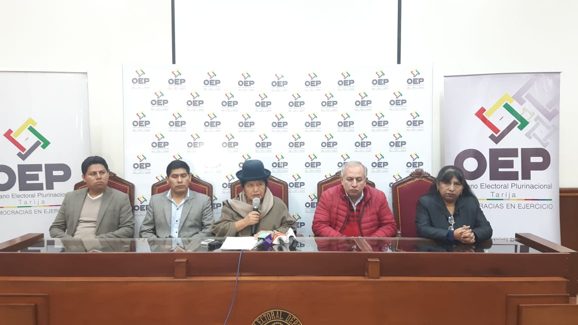 Los cuestionados vocales del TSE volvieron a interpretar la normativa interna boliviana / TSE / FUENTE DIRECTA