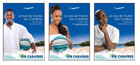 Banniere publicitaire Air Caraibes