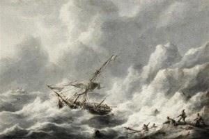 Una nave nella tempesta