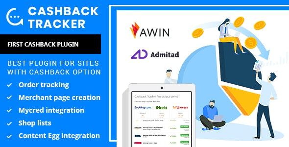 Cashback Tracker v1.6.6 - Wordpress Plugin