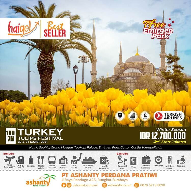 tour turkey surabaya