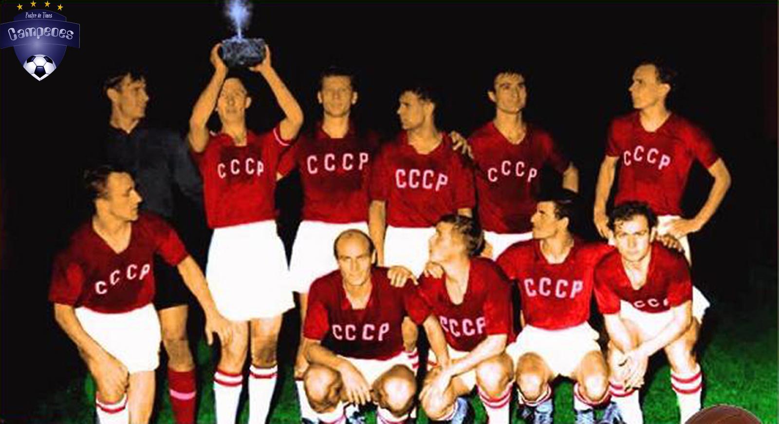 fa0bb7b856 Times Campeões  União Soviética Campeã da Eurocopa 1960