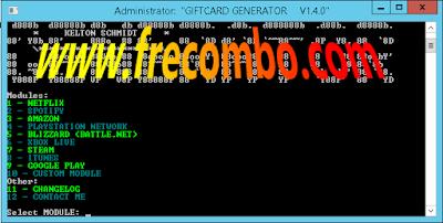 GiftCard Generator Offical V1.4.0 Kelton Schmidt