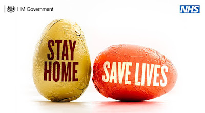 easter eggs stay home save lives uk government ad