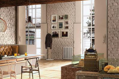 Paneles imitacion ladrillo decorativos sintéticos | Decomur