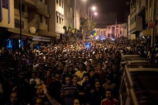 Maroc: nouveaux rassemblements à Al-Hoceïma mais pas d'incident majeur dans - CHOMAGE a17